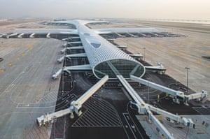 Shenzhen Bao'an International airport, China.