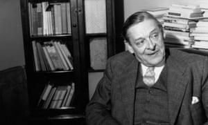 The poet TS Eliot in 1957