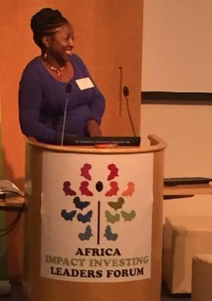 Caroline Mulwa, country manager, Oikocredit Kenya.