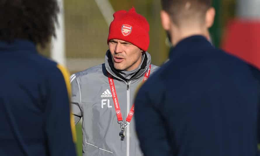 Freddie Ljungberg will continue in his role as Arsenal's interim manager against Standard Liège in the Europa League.