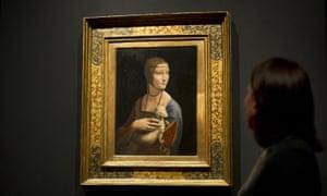 Maximum clarity … Krakow's The Lady With an Ermine.