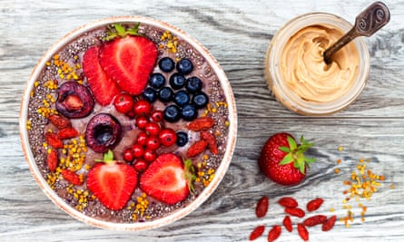 Some superfoods in a bowl