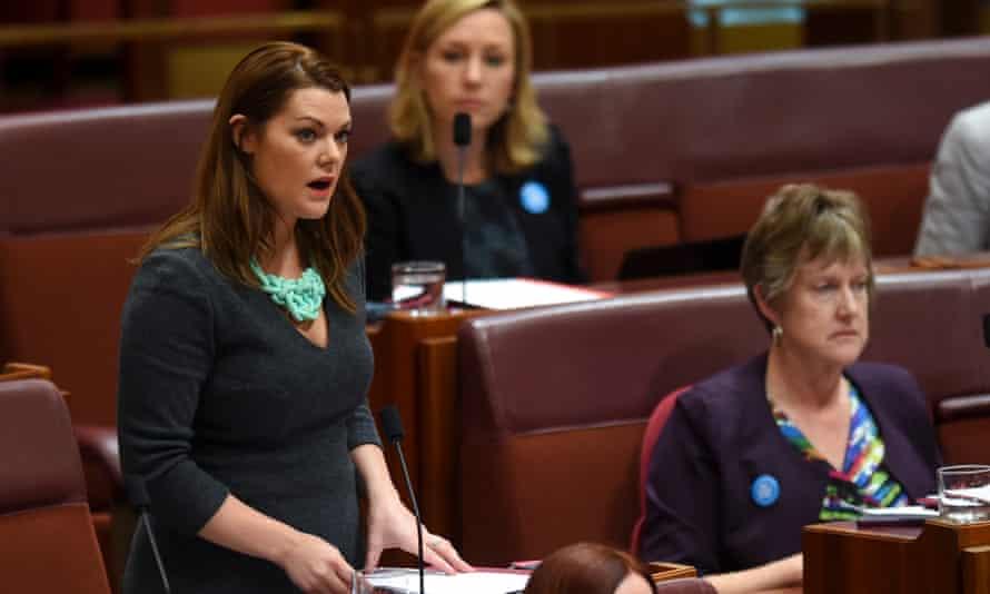 Sarah Hanson-Young in the Senate