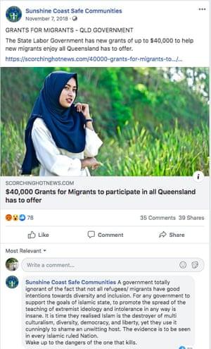 A screenshot of the Sunshine Coast Safe Communities page