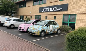 Boohoo Leicester office.