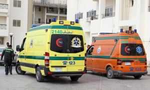 Al-Arish hospital in Sinai