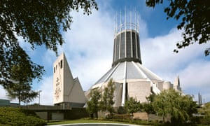 Liverpool's Metropolitan Cathedral of Christ the King (1967), designed by Frederick Gibberd.