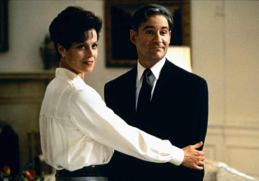 With Kevin Kline in Dave.