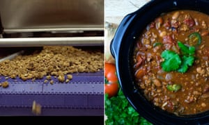 Beyond Meat crumbles and chili