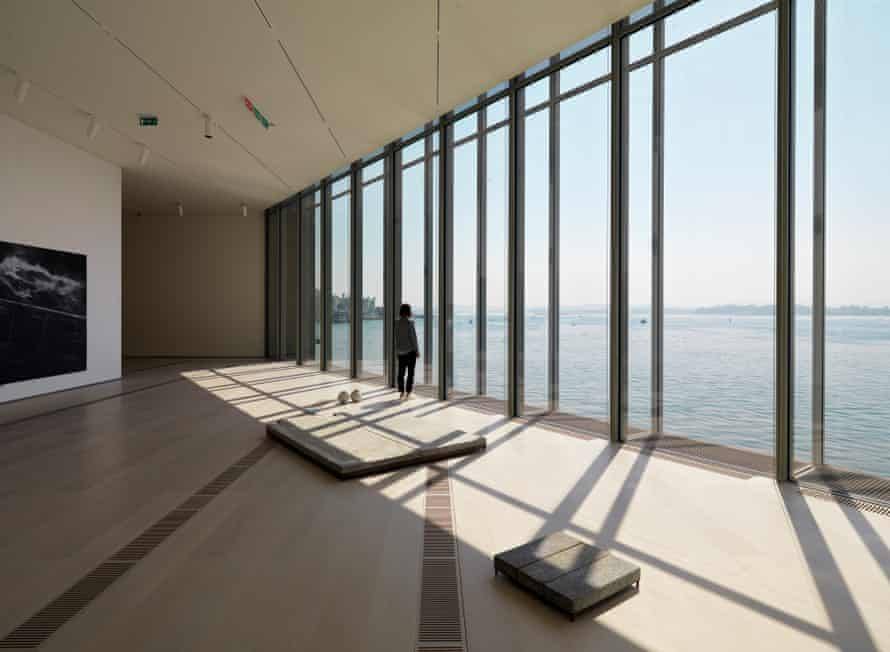 The arts centre in the port city of Santander offers spectacular views of the sea.