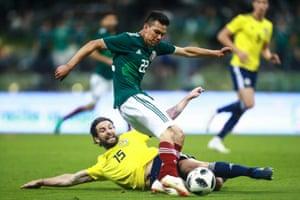 Mexico winger Hirving Lozano
