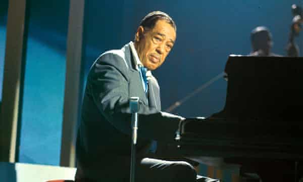 Composer, pianist and bandleader Duke Ellington (1899-1974), who was influenced by Debussy