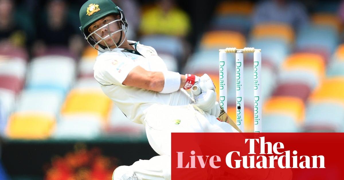 Australia v Pakistan: first Test, day two – live! | Sport