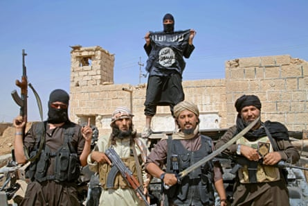 Islamic State fighers