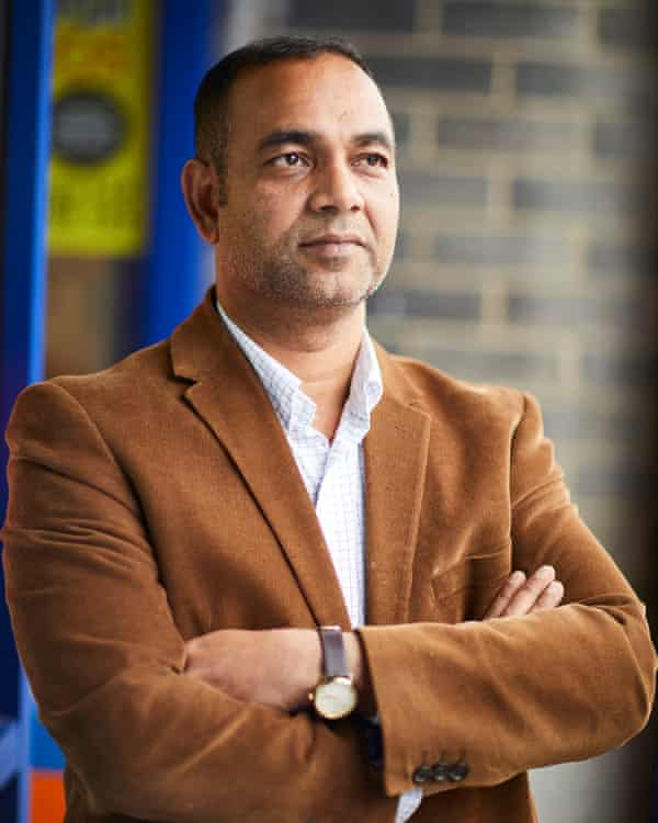 Hassan Khan, who helped resettle some of the first Rohingya Muslims who left Myanmar and stayed in Europe's largest Rohingya community in Bradford.