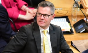 Derek Mackay, the Scottish finance secretary