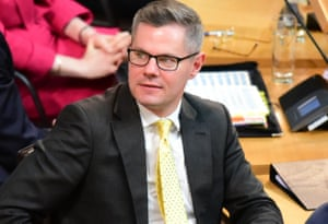 Scottish finance secretary Derek Mackay