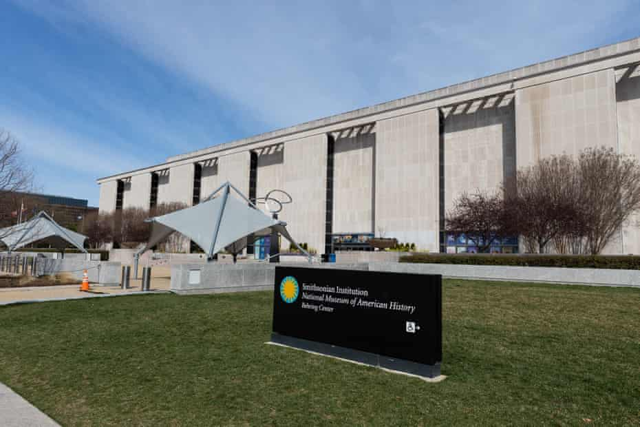 The Museum of American History was forced to close by the coronavirus pandemic.