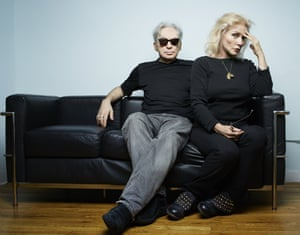 Chris Stein and Debbie Harry in New York City, 2014.