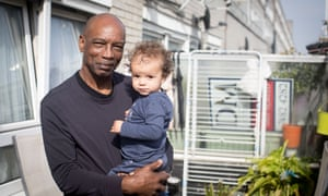 Michael Braithwaite with his one-year-old granddaughter Sieena Ray