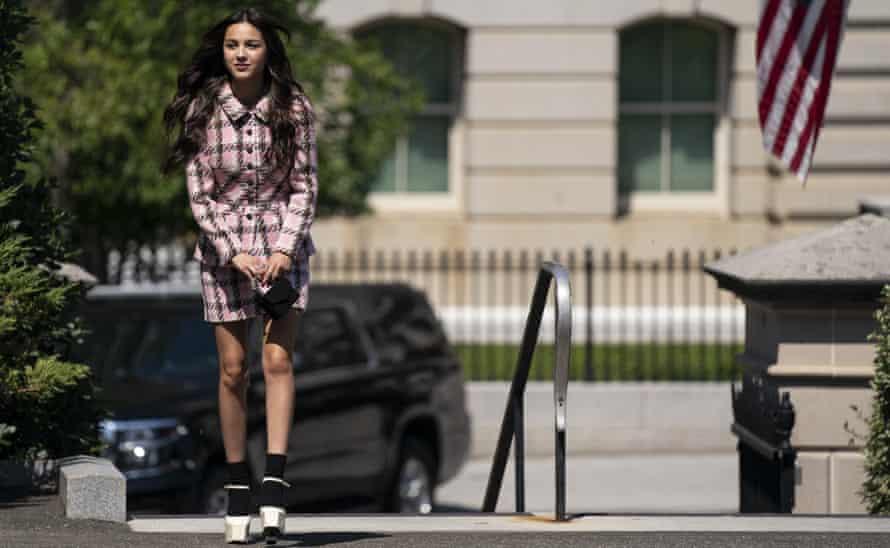 Olivia Rodrigo at the White House in July.