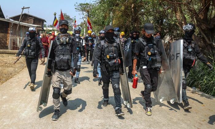 Myanmar's besieged resistance dreams of 'people's army' to counter junta | Myanmar coup | The Guardian