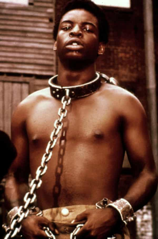 Its impact was unprecedented … Kunta Kinte in the 1977 Roots, the most-watched programme in television history.