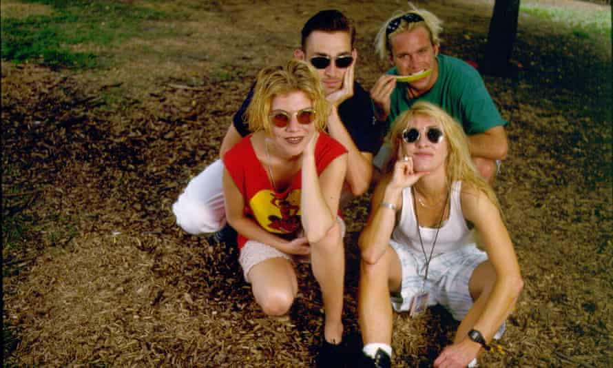 Belly in 1993, the year their debut album Star came out