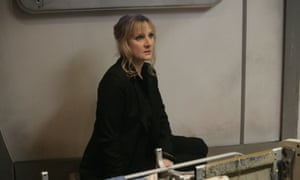 Lesley Sharp in Doctor Who episode Midnight.