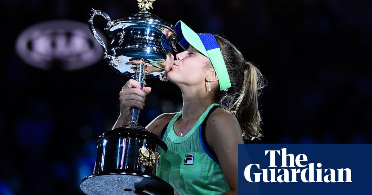 The most notable US athletes of 2020: No 5 – Sofia Kenin, out of the shadows