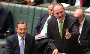 Agriculture minister Barnaby Joyce during question time in the house of representatives this afternoon, Tuesday 17th March 2015.
