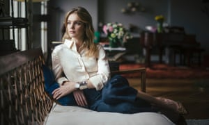 'I was never an angel': Natalia Vodianova at home in Paris, looking pretty angelic.