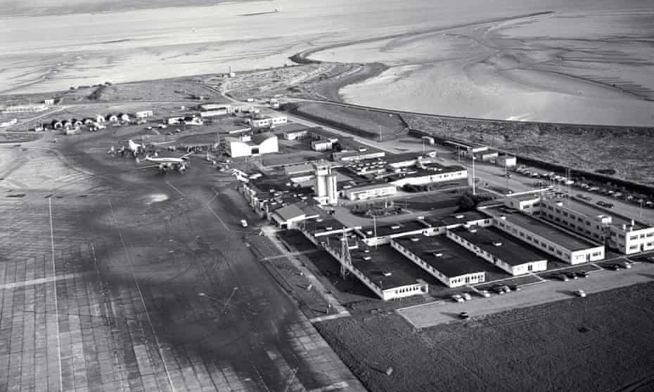 Shannon airport, site of the world's first duty free shop, in 1959.
