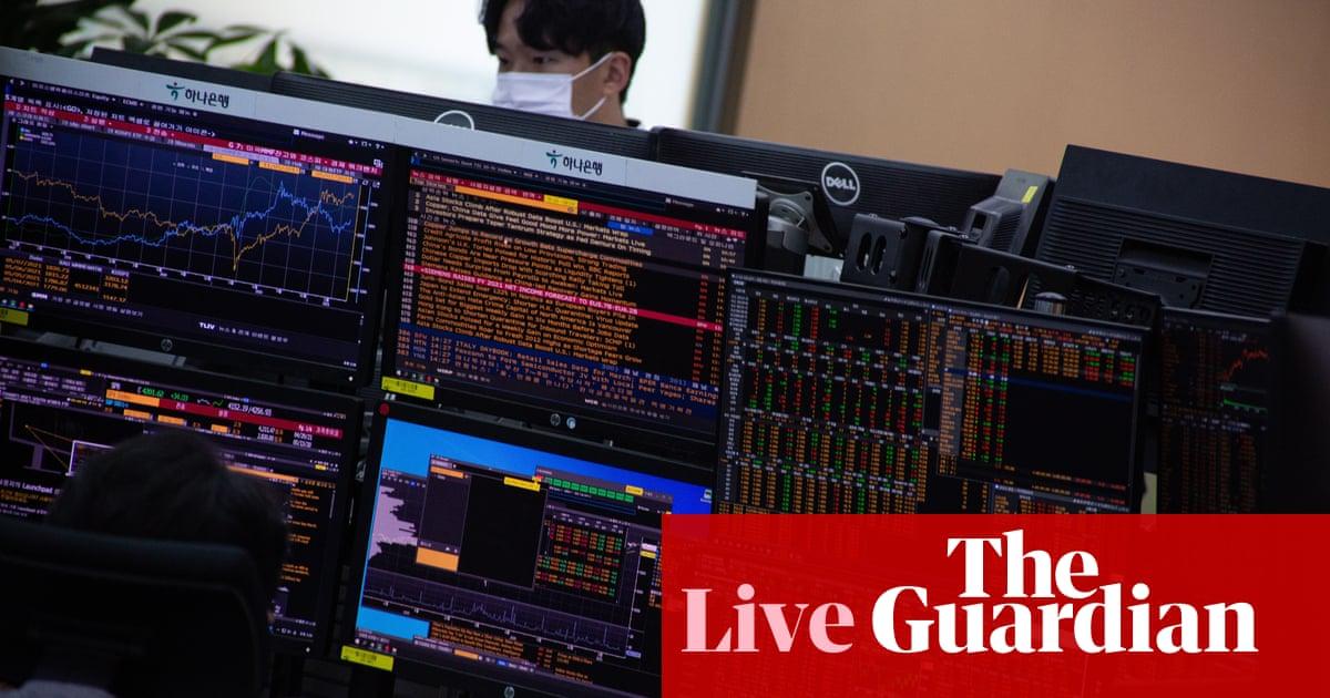 Stock markets slide as tech selloff spooks investors – business live