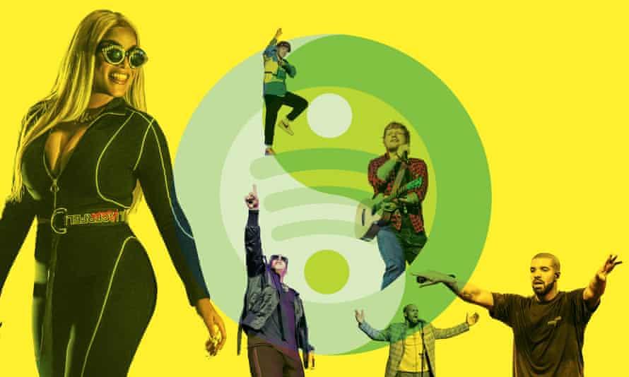 Stars of Spotify: Stefflon Don, Daddy Yankee, BTS, R Kelly, Ed Sheeran and Drake