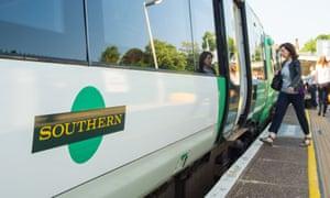 A Southern rail carriage