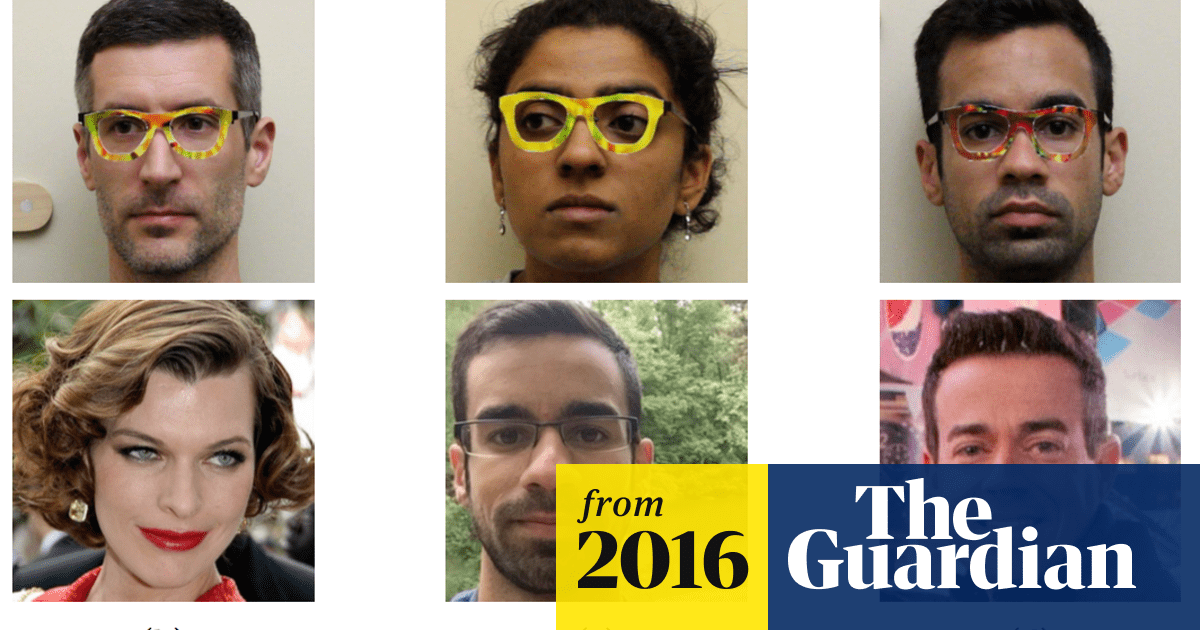 Want to beat facial recognition? Get some funky