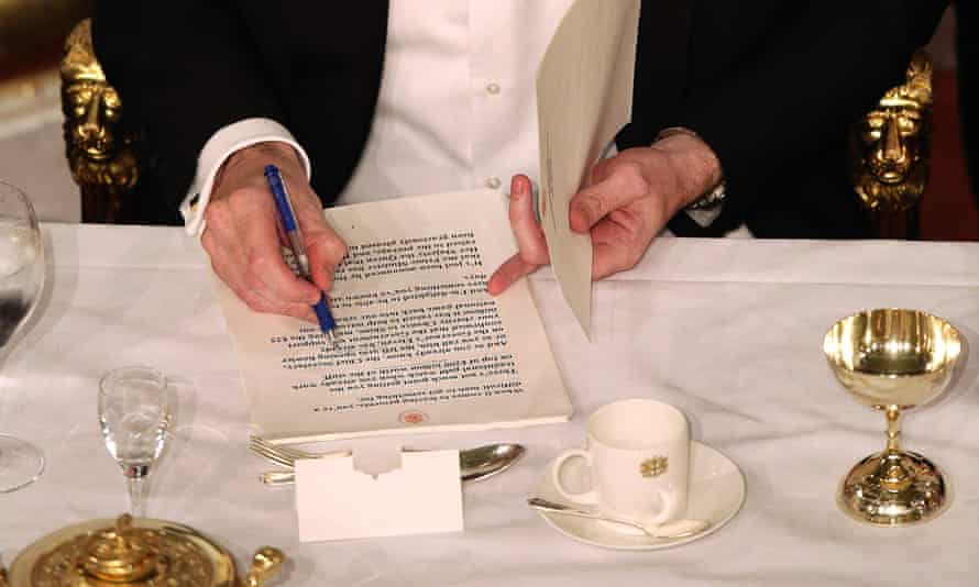 George Osborne and the lord mayor's banquet