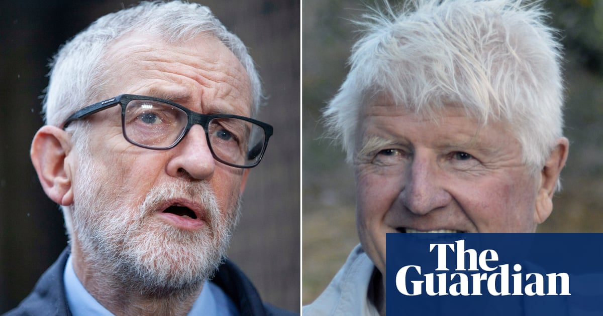 Jeremy Corbyn and Stanley Johnson apologise for Covid breaches - the guardian