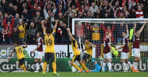 Laurent Koscielny scored a controversial late winner for Arsenal in 2016 in which he kicked the ball onto his own elbow and into the net.