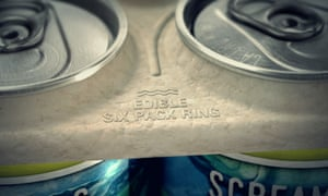 Saltwater Brewery edible six ring pack.