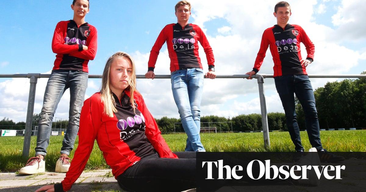 Ellen Fokkema breaks Dutch age barrier to play football against men