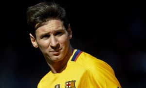 Lionel Messi scored six goals in as many league games in January.