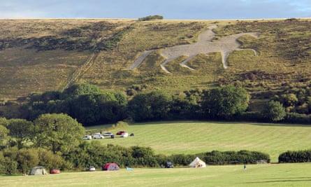 Whitehorse campsite, Dorset