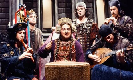 John Belushi in Saturday Night Live's medieval band sketch, 1980.