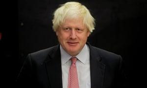 Boris Johnson, the foreign secretary