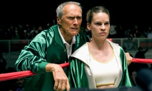 Eastwood and Hilary Swank in Million Dollar Baby