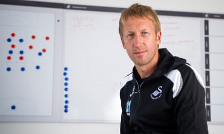 Graham Potter to leave Swansea for Brighton manager's job