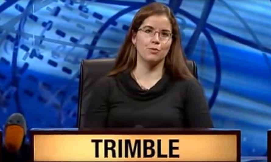 Gail Trimble, a contestant in 2013, who was nicknamed the 'human Google'.
