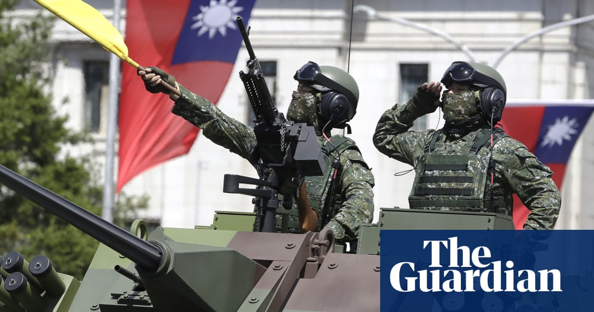 Taiwan national day: we won't bow to China, says president amid tensions